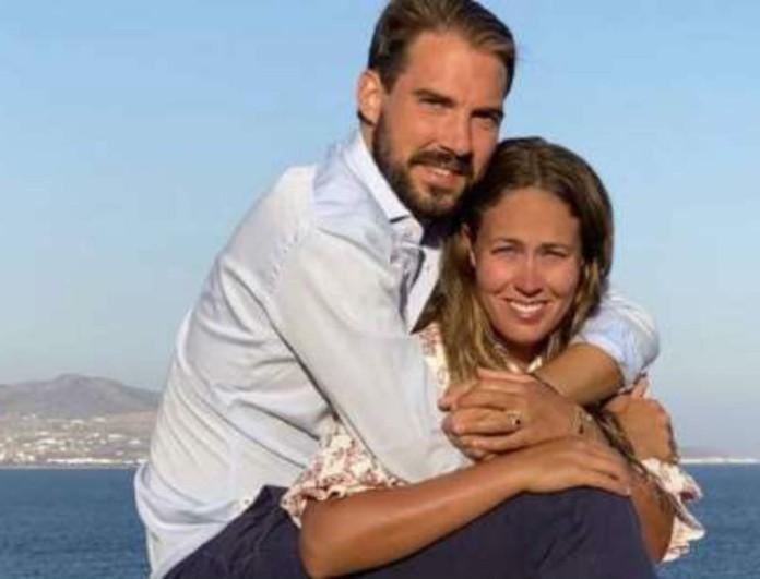 Φίλιππος - Nina Flohr: Δημοσίευσαν την πρώτη φωτογραφία του γάμου τους!