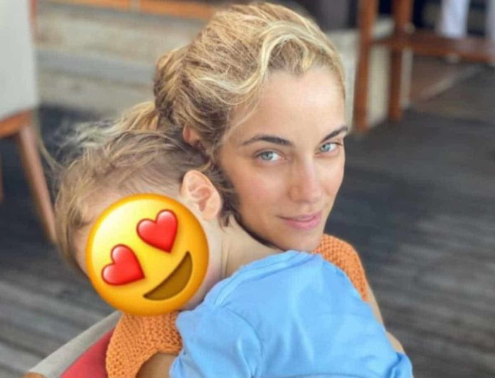 Δούκισσα Νομικού: Ρίγη συγκίνησης προκάλεσε το μήνυμα στον γιό της!