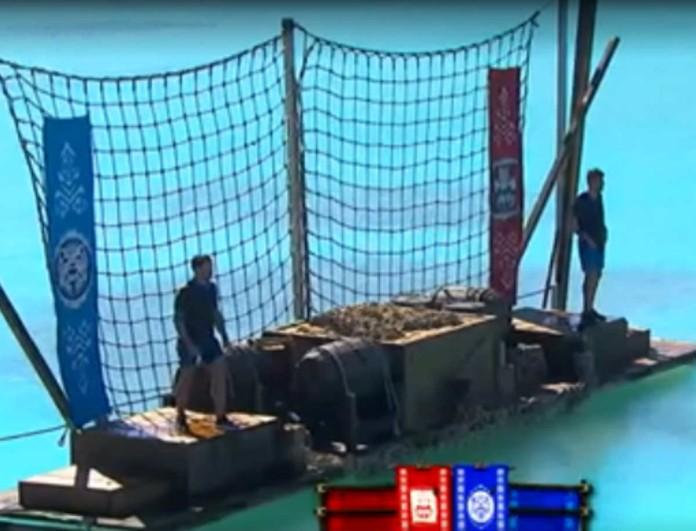Survivor: Σαν τον Ντάνο κι ο Ασημακόπουλος - Έκανε τον σταυρό του πριν ριχτεί στον στίβο μάχης