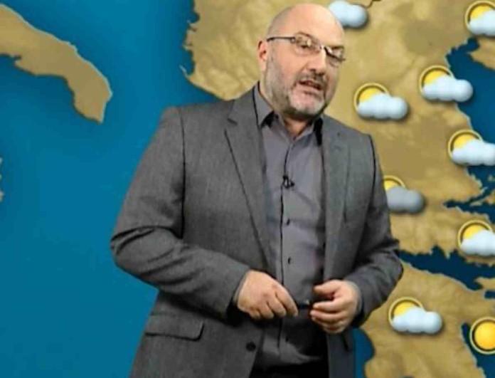 Για επιδείνωση του καιρού και χιόνια ενημέρωσε ο Σάκης Αρναούτογλου