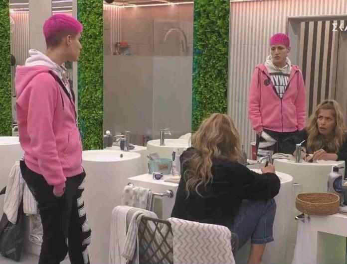 Big Brother: Καυγάς μεταξύ Σοφίας και Θέμη -