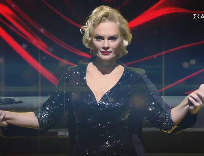 My Style Rocks: Αναστάτωσε το πλατό του ΣΚΑΪ με τον χορό της η Έλενα Χριστοπούλου