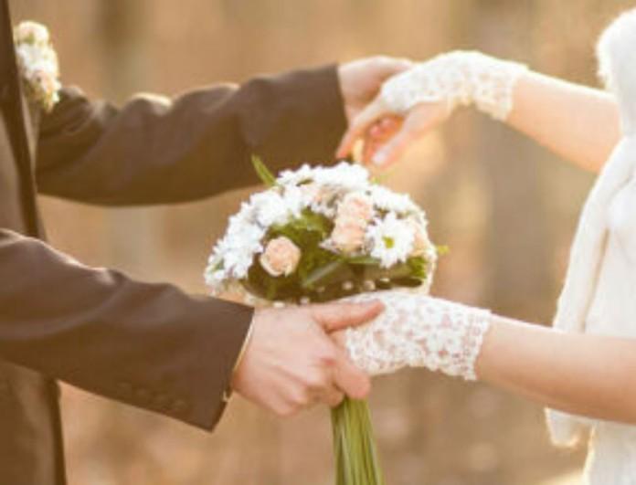 Ερωτευμένο ζευγάρι παντρεύεται πριν μπει το 2021