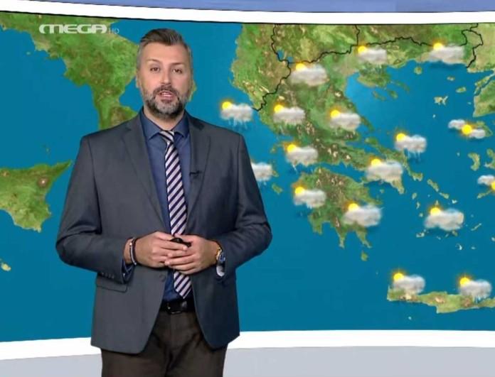 Προειδοποιεί ο Γιάννης Καλλιάνος: «Έρχονται βροχές...»
