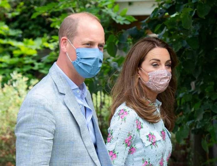 «Σούσουρο» στη Βρετανία - «Έσπασαν» τα μέτρα ασφαλείας η Kate Middleton και ο William