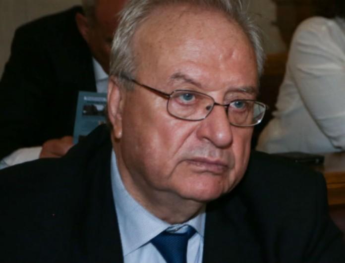 Κορωνοϊός: Στο νοσοκομείο ο πρώην υπουργός Λεωνίδας Γρηγοράκος