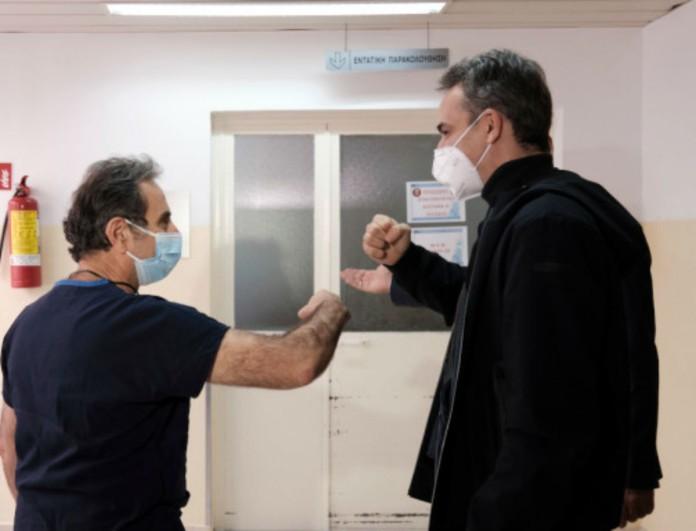 Κυριάκος Μητσοτάκης: Είναι επίσημο - Εμβολιάζεται αύριο στις 14:30 στο «Αττικόν»