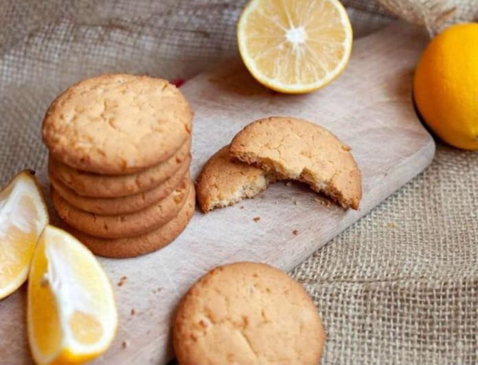 Μπισκότα λεμονιού σε 15' από την Αργυρώ Μπαρμπαρίγου - Ότι πρέπει για τα Χριστούγεννα