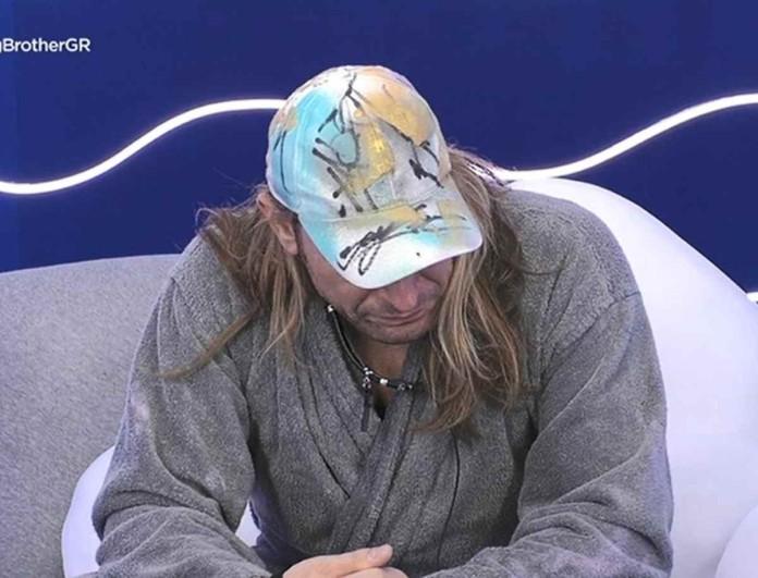 Big Brother: Ξέσπασε σε κλάματα ο Δημήτρης Πυργίδης - Τι συνέβη;