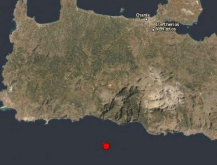 Σεισμός στην Παλαιοχώρα Χανίων