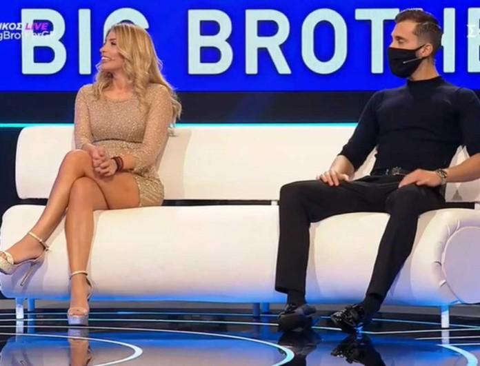 Big Brother: Έφυγαν μαζί από το live Σοφία Δανέζη και Δημήτρης Κεχαγιάς