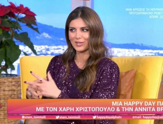 Σταματίνα Τσιμτσιλή: Αποκάλυψε πόσα κιλά πήρε στις τρεις εγκυμοσύνες της - «Αν κάνω τέταρτο θα πάρω...»