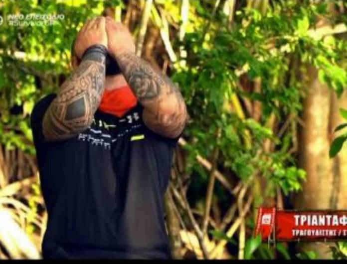 Survivor 4: Πλάνταξε στο κλάμα ο Τριαντάφυλλος - Η κίνηση που αφιέρωσε στα παιδιά του