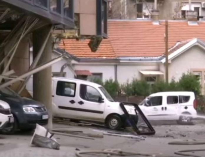 Συναγερμός στο Βελιγράδι - Ισχυρή έκρηξη με έναν νεκρό