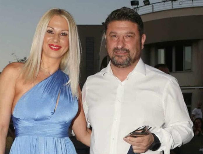 Νίκος Χαρδαλιάς: Οι ευχές από την γυναίκα του και το... υποκοριστικό που του έχει δώσει!