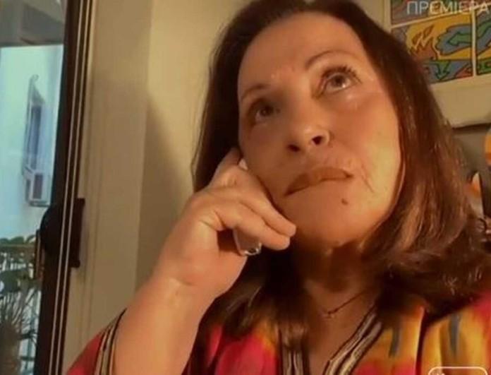 Δάκρυσε στον αέρα του Mega η Χάρις Αλεξίου - Η εξομολόγηση για τη μητέρα της