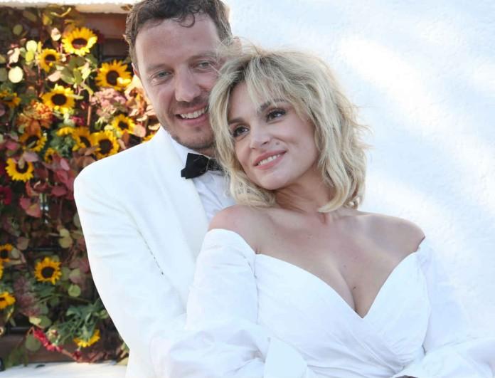 Στιγμές ευτυχίας για Ζουγανέλη - Δημητρίου λίγο καιρό μετά τον γάμο