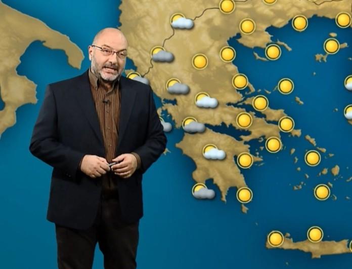 Σάκης Αρναούτογλου: «Σταδιακά θα έρθουν βροχές μέσα στη νύχτα»