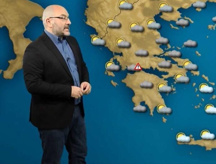 Προειδοποιεί ο Σάκης Αρναούτογλου - «Έρχονται χιόνα στη χώρα»