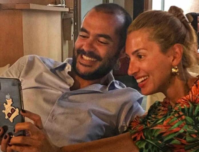 Μαρία Ηλιάκη: Δεν φαντάζεστε πως αντέδρασε ο σύντροφος της όταν την είδε με την μάσκα προσώπου