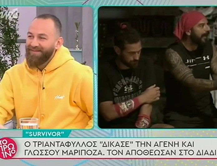 Survivor - Αναγνωστόπουλος: «Είδαν ότι είχαμε κόντρα με τον Ντάνο και είπαν να μας βάλουν στο παιχνίδι»