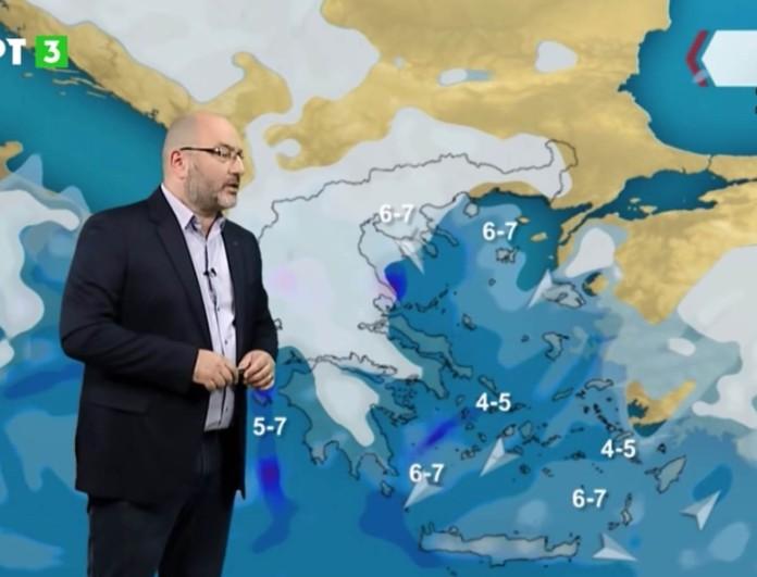 Καιρός: Προειδοποιεί ο Σάκης Αρναούτογλου - Χιόνια σε όλη τη κεντρική Ελλάδα
