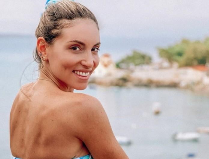 Αθηνά Οικονομάκου: Έκανε τεστ κορωνοϊού στον πέμπτο μήνα της εγκυμοσύνης