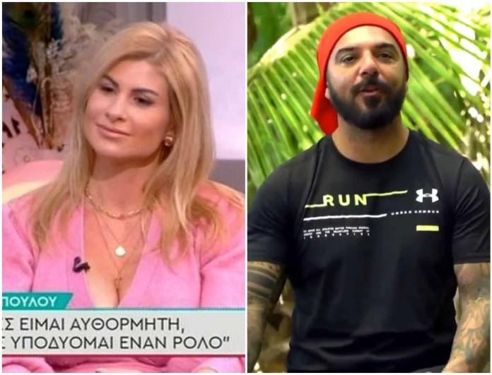 Ευρυδίκη Παπαδοπούλου: «Αν δεν πήγαινε στο Survivor ο Τριαντάφυλλος θα ήταν άνεργος»