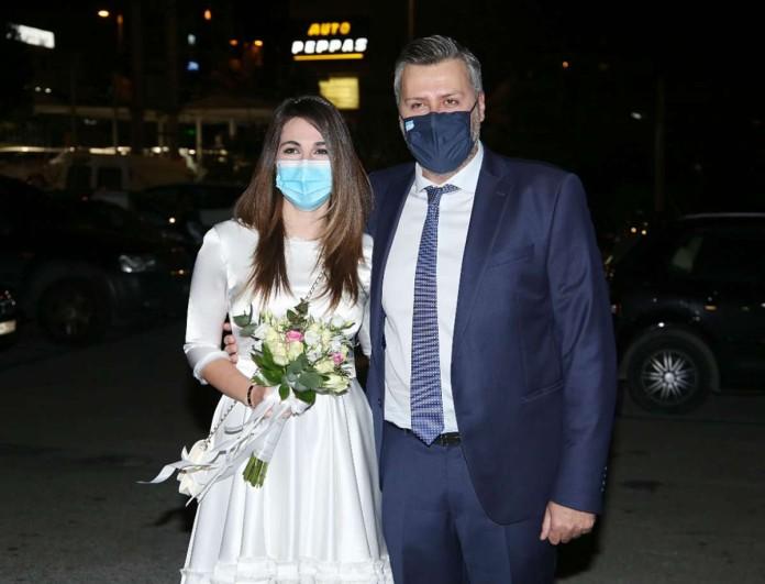 Γιάννης Καλλιάνος - Χάρις Δαμιανού: Οι πρώτες δηλώσεις μετά από τον γάμο τους