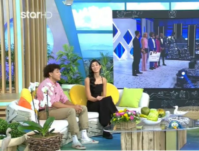 GNTM: Παρασκευή και Ηρακλής μίλησαν για τις σχέσεις τους μετά το παιχνίδι