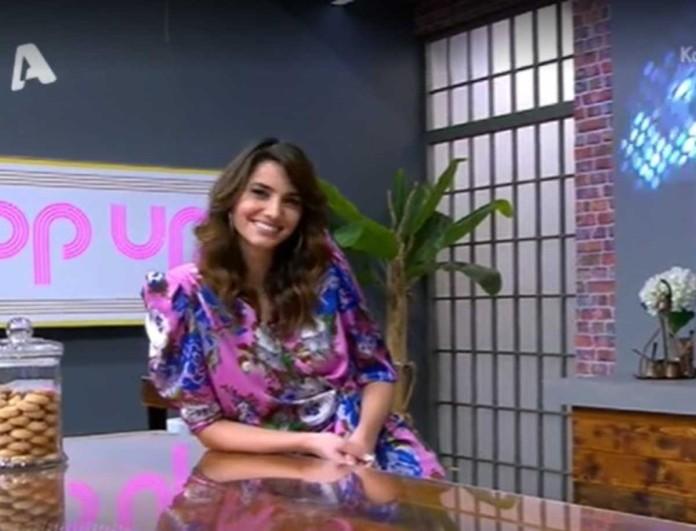 Ηλιάνα Παπαγεωργίου: Τη ρώτησαν on air για το πιο περίεργο μέρος που έχει συνευρεθεί με άνδρα