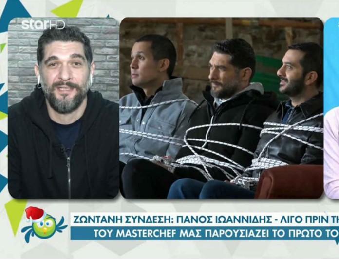 MasterChef - Πάνος Ιωαννίδης: «Σίγουρα υπάρχουν αλλαγές λόγω κορωνοϊού, από την πρώτη κιόλας ημέρα..»