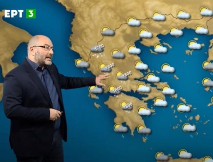 Ο Αρναούτογλου προειδοποιεί για κακοκαιρία που θα σαρώσει - «Βροχές με εμμονική συμπεριφορά»