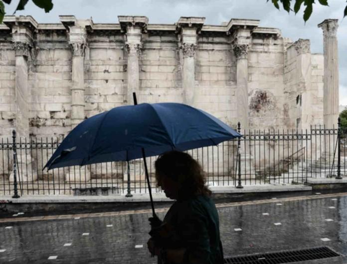 Καιρός - Αθήνα: Έντονα καιρικά φαινόμενα από το απόγευμα της Δευτέρας