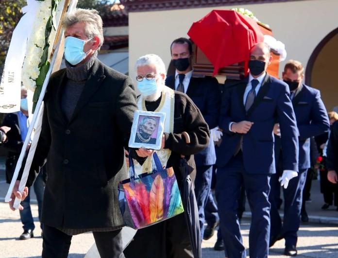 Θλίψη στην κηδεία της Τιτίκας Σαριγκούλη - Φίλοι και συγγενείς της είπαν το τελευταίο