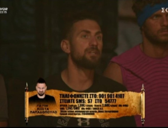 Survivor 4: Τα έβαλε ανοιχτά με τους Διάσημους ο Κώστας Παπαδόπουλος