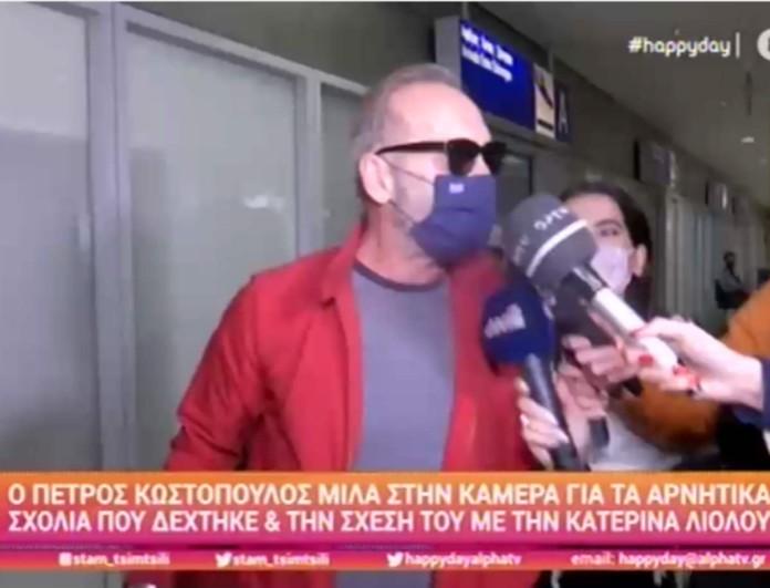 Αφοπλιστικός ο Κωστόπουλος για το ταξίδι στο Ντουμπάι - «Εγώ πήγα γιατί δουλεύω και δεν μπορεί να το διαψεύσει κανείς»