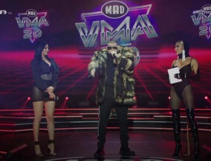 «Σάρωσε» στη σκηνή των Mad VMA ο Mad Clip