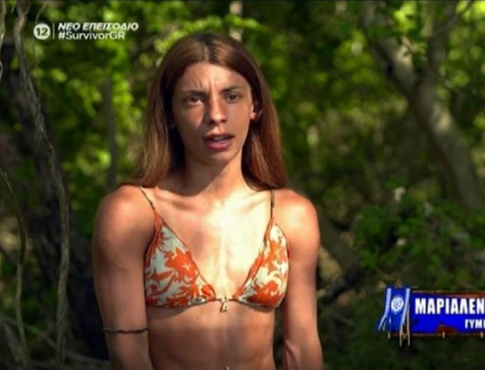 Survivor 4 - Μαριαλένα: «Δεν είμαι η μαμά της Μαριπόζας να την πάρω από το χέρι να έρθει στη παρέα»