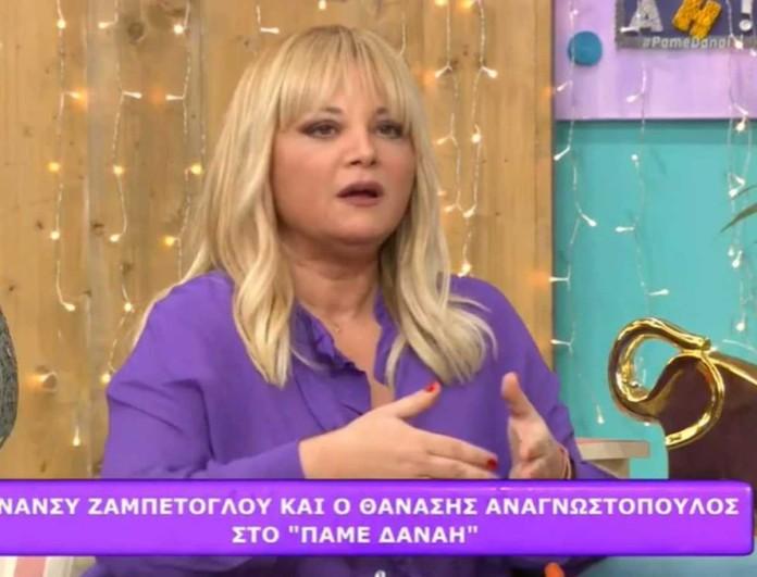 Νάνσυ Ζαμπέτογλου: «Υπήρχε κόντρα ανάμεσα στην Άννα Βίσση και τη Δέσποινα Βανδή»