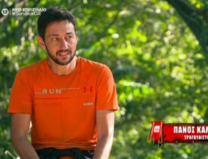 Survivor 4: Πάνος Καλίδης - «Δεν περίμενα να με ψηφίσουν»