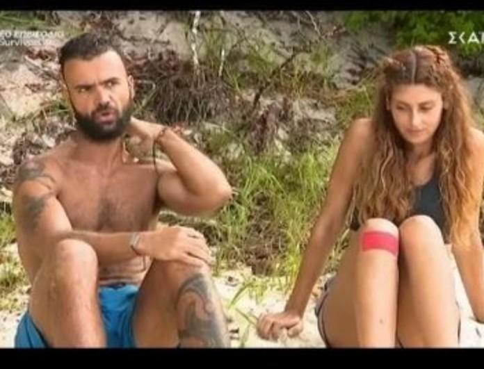 Survivor 4 - Κονδυλάτος για Τριαντάφυλλο: «Αυτό το ανθρωποειδές είναι ο υπποκόμος του Κοψιδά»