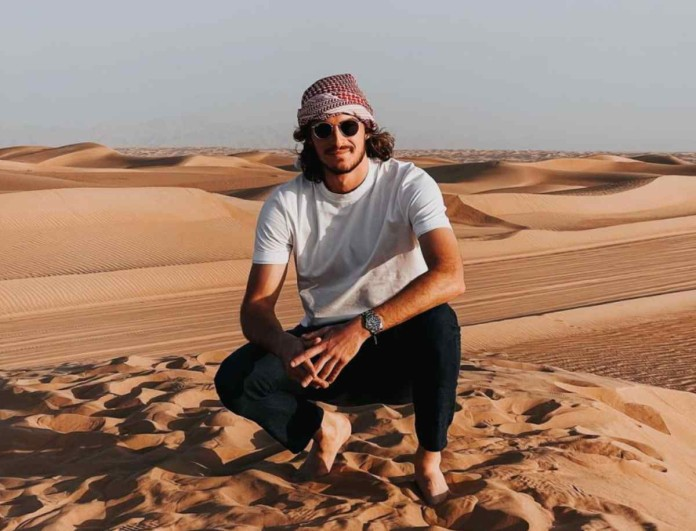 Στέφανος Τσιτσιπάς: Φωτογραφίζει τη σύντροφό του στο Ντουμπάι και σημειώνει - «Να εκτιμάς τα απλά»