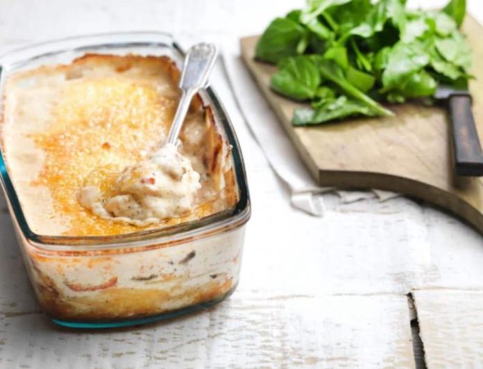 Η πιο νόστιμη πατατόπιτα χωρίς φύλλο από την Αργυρώ Μπαρμπαρίγου