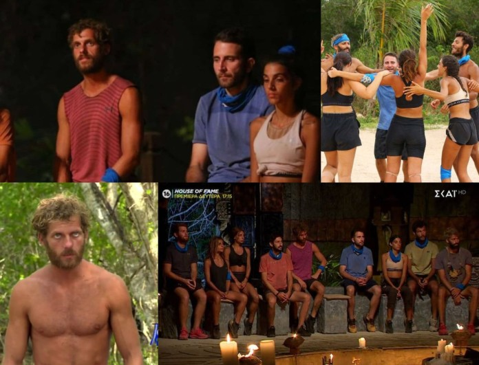 Survivor 4 Highlights (10/2): Το ξέσπασμα του Κρις, η αποχώρηση του Μακρόπουλου και η ποινή στους Μπλε