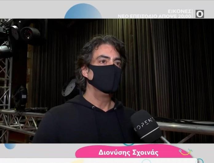 Διονύσης Σχοινάς: «Μπράβο στην τηλεόραση που λένε πως ''δικάζει'' αφού η πολιτεία δεν το κάνει»