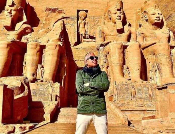 Εικόνες: Ο Τάσος Δούσης μας ταξιδεύει στην Αίγυπτο, στην μαγευτική Γη των Φαραώ