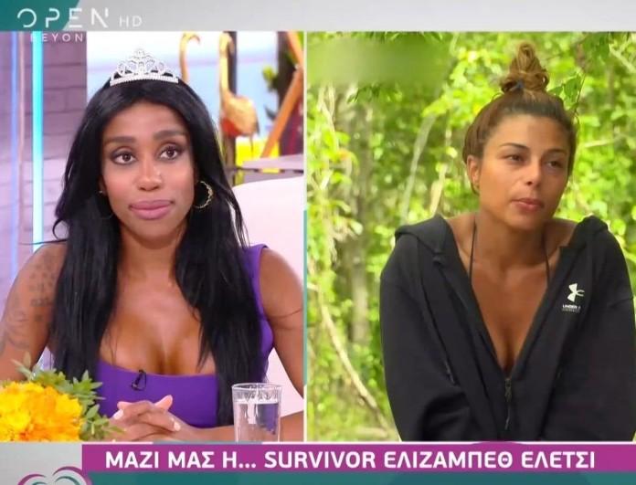 Survivor 4 - Ελέτσι: «Η Βέλλη είναι διπρόσωπη και κωλοτούμπας»