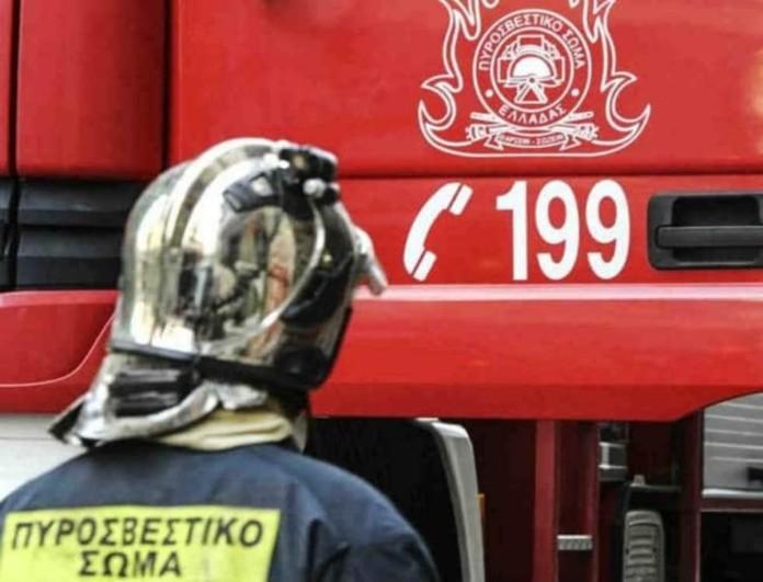 Φωτιά σε λεωφορείο στην Αθηνών - Λαμίας