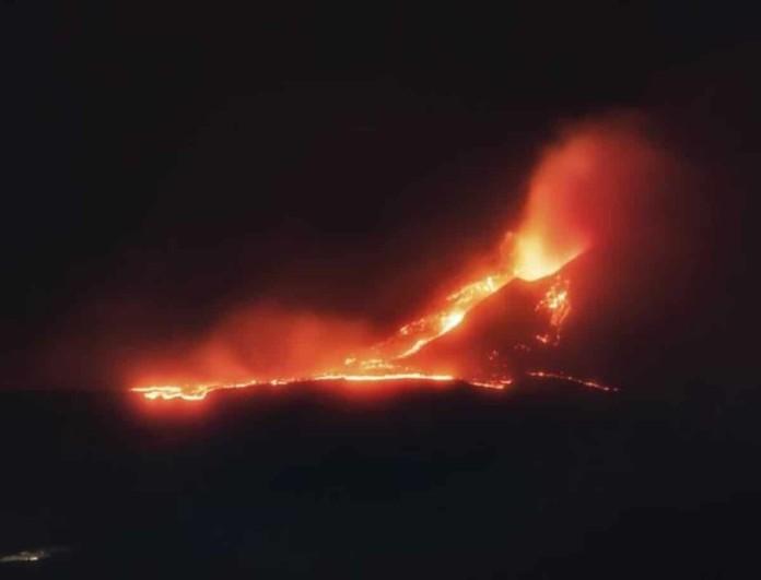 Εξερράγη το ηφαίστειο της Αίτνας στη Σικελία